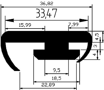 SO - G585 - Other gasket profiles